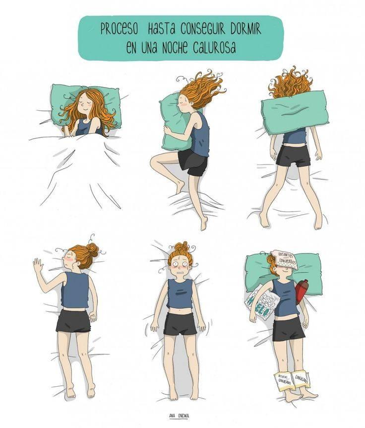 Consejos para superar las noches calurosas