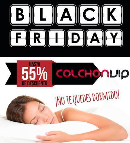 Black Friday en ColchonVip