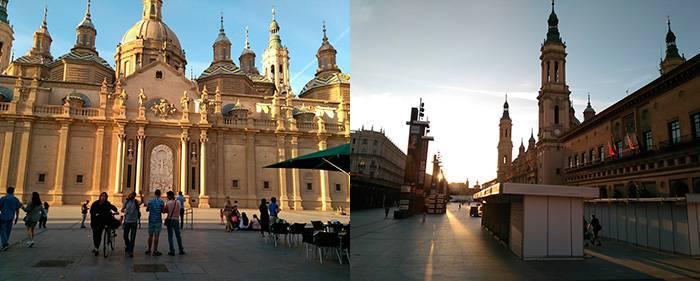 Basílica del Pilar Plaza del Pilar